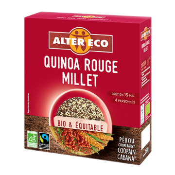 Quinoa Rouge Millet - 250g