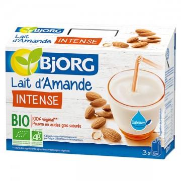 Lait d'Amande Intense Bio 3x20cl