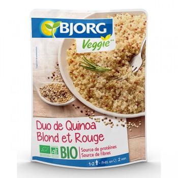 Duo de Quinoa blond et rouge bio