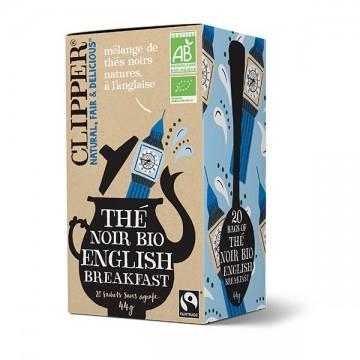 Clipper thé noir English Breakfast bio