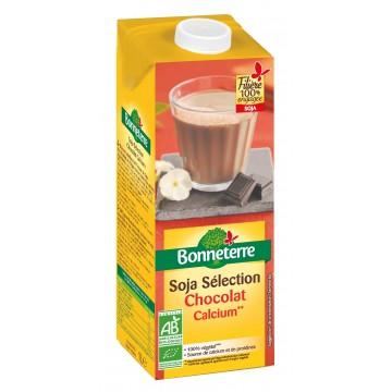 Boisson soja sélection chocolat