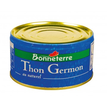 Thon germon au naturel
