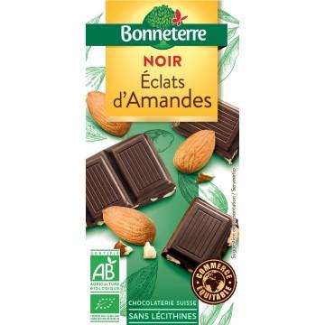 Chocolat noir éclats amandes