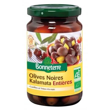 Olives noires kalamata entières