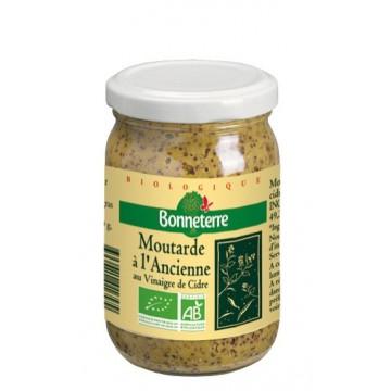 Moutarde a l'ancienne au vinaigre de cidre