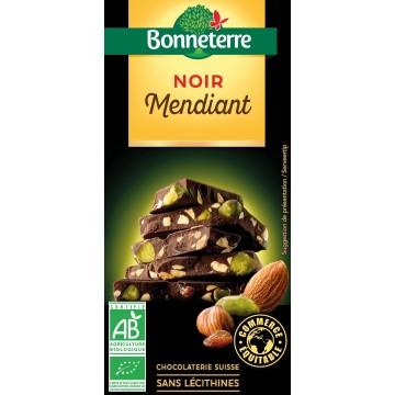 Chocolat noir mendiant
