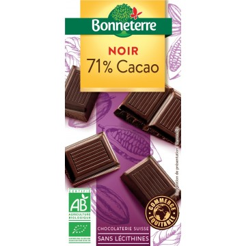 Chocolat noir 71% cacao