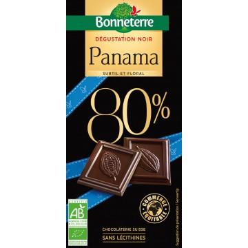 Chocolat dégustation noir panama 80%
