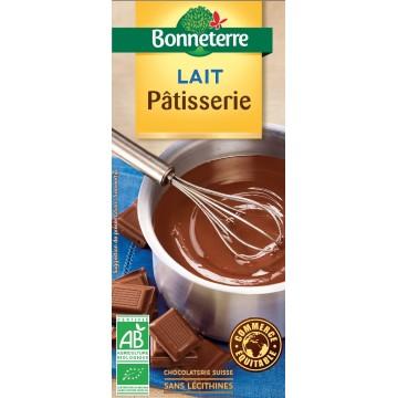 Chocolat lait pâtisserie