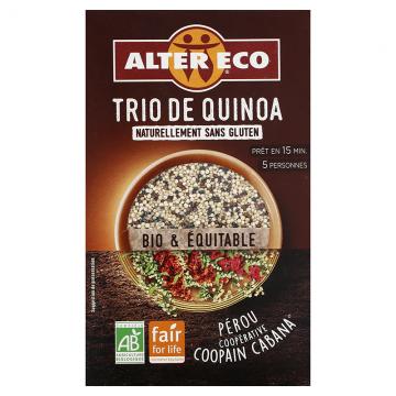 Trio de quinoa bio - 350g