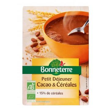 Petit déjeuner cacao & céreales