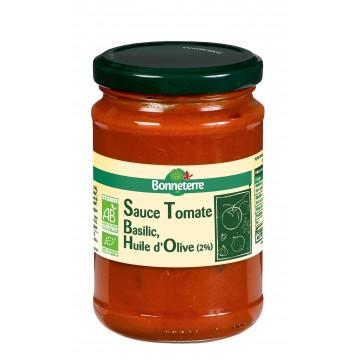 Sauce tomate basilic huile d'olive