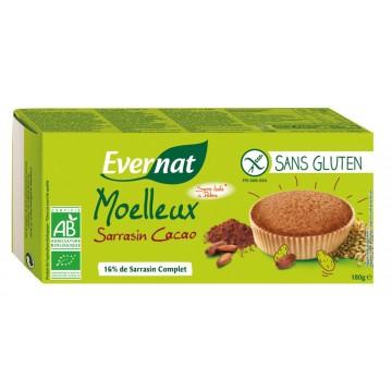 Moelleux sarrasin cacao sans gluten