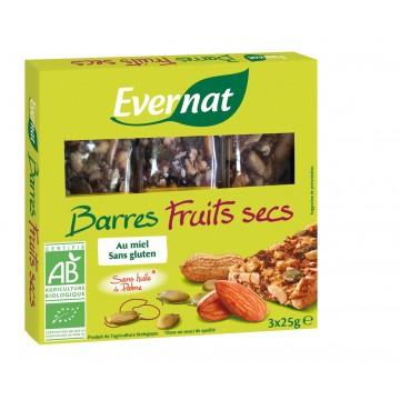 Barres fruits secs