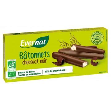 Bâtonnets chocolat noir