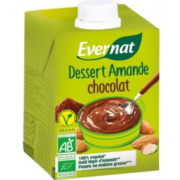 Dessert amande chocolat
