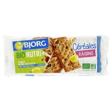 Céréales raisins Bio