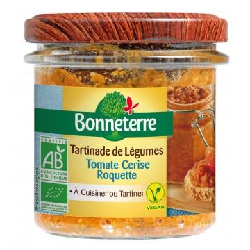Tartinades de légumes - tomate cerise roquette