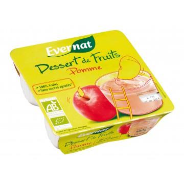 Dessert de fruits pomme