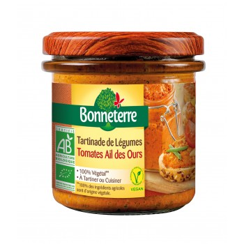 Tartinades de légumes - tomate ail des ours