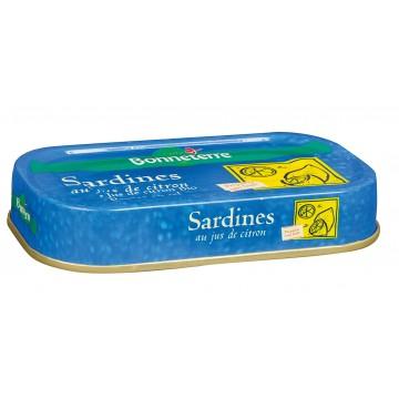 Sardines au citron