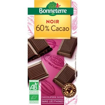 Chocolat noir 60% cacao