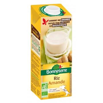 Boisson riz amande