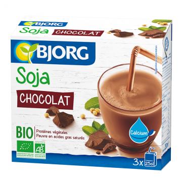 Mini Soja Chocolat 3x25cl