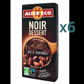 Chocolat noir dessert (5+1 offert)