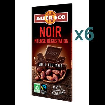 Chocolat noir intense dégustation (5+1 offert)