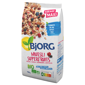 MUESLI SUPERFRUITS 750G
