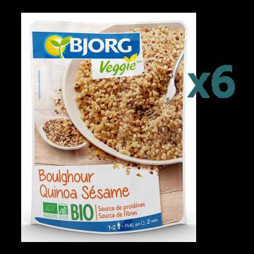 Pack Boulghour quinoa sésame