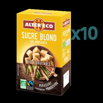 Pack Sucre Blond en morceaux