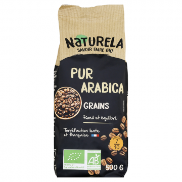 Café en Grains - Pur Arabica bio - 500g