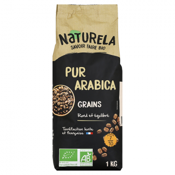 Café Grains Pur Arabica 1kg