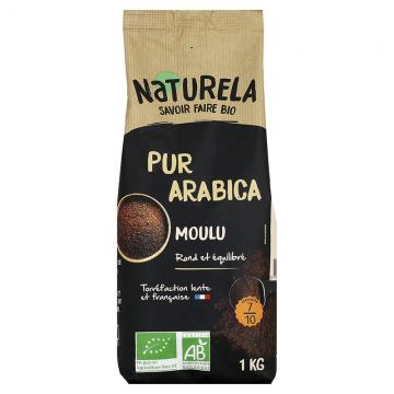 Café Moulu Pur Arabica 1kg