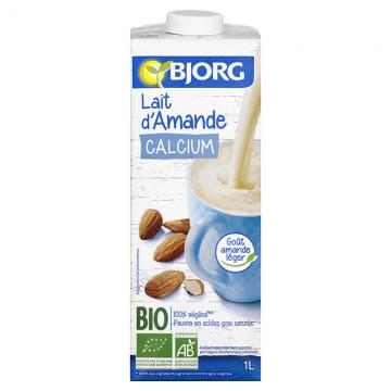 Lait d'Amande Calcium Bio