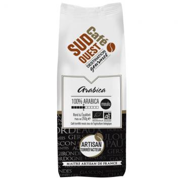 L'Arabica Bio Moulu 250g - SudOuest Café