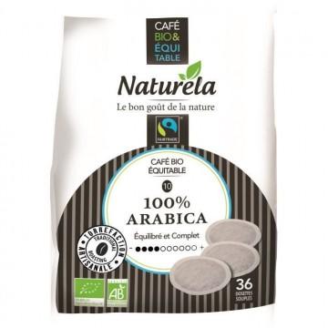 Dosettes Souples Pur Arabica Bio - 36x7g