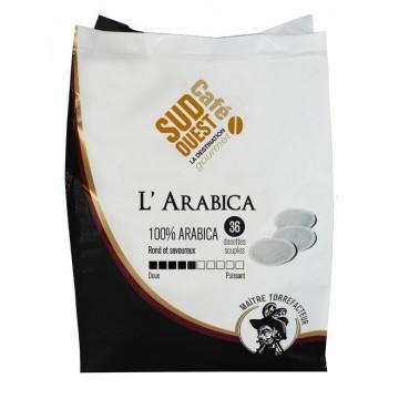 Dosettes Souples L'Arabica - 36x7g