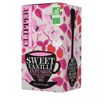 Clipper Infusion Sweet Vanilli bio
