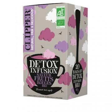 Clipper Infusion Detox saveur fruits rouges bio