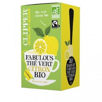 (5+1 offert) Clipper Fabulous Thé Vert Citron Bio