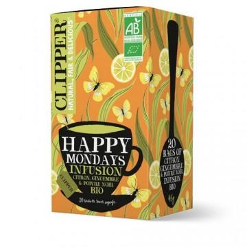 (5+1 offert) Clipper Infusion Happy Mondays bio