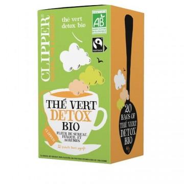 (5+1 offert) Clipper Thé Vert Bio Détox bio