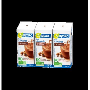 Lait d'Amande Chocolat Bio 3x20cl