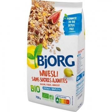 Muesli sans sucres ajoutés Bio 750g