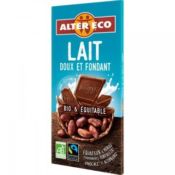 Chocolat au lait doux et fondant