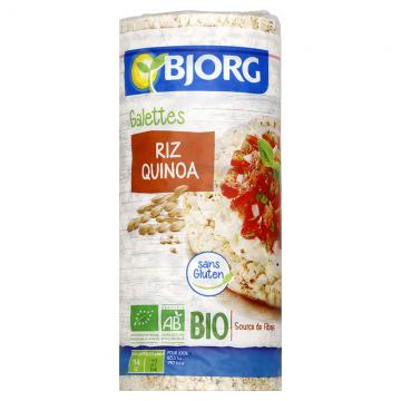 Galettes Riz Quinoa Bio