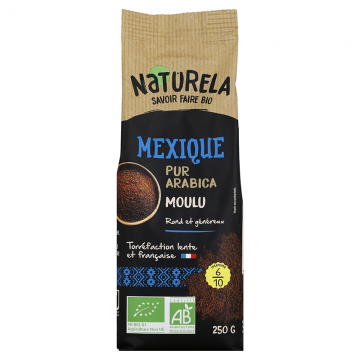 Café Moulu - Mexique Pur arabica bio - 250g
